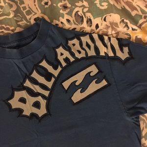 Billabong blue graphic T-shirt Sz M